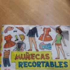 Coleccionismo Recortables: TACO CON 50 RECORTABLES AÑO 1962. Lote 119892664