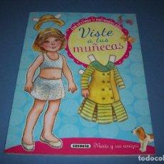 Coleccionismo Recortables: VISTE A TUS MUÑECAS, SUSAETA, MARIA Y SUS AMIGOS, 24 PAGINAS. Lote 120521559