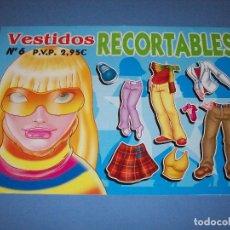 Coleccionismo Recortables: VESTIDOS RECORTABLES Nº6 EDICIONES ASTURIAS. Lote 120824811