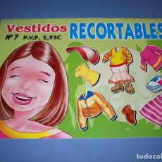 Coleccionismo Recortables: VESTIDOS RECORTABLES Nº7 EDICIONES ASTURIAS. Lote 120824903