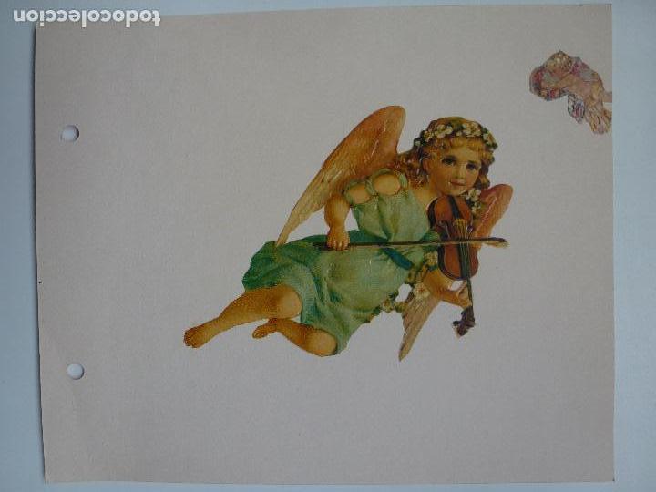 Coleccionismo Recortables: LÁMINA CON TRES RECORTABLES ANTIGUOS. YA RECORTADOS Y PEGADOS. - Foto 2 - 120841427
