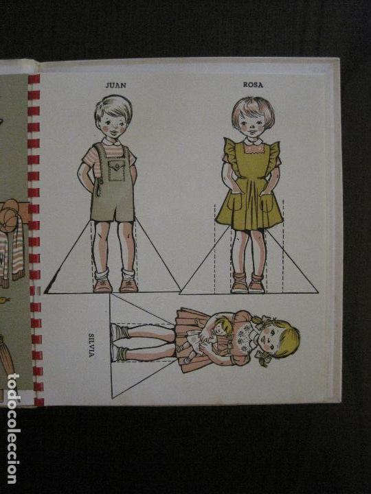 RECORTABLES - CASA DE MUÑECAS - EDITORIAL JUVENTUD -VER FOTOS-(V- 14.528) (Coleccionismo - Recortables - Muñecas)