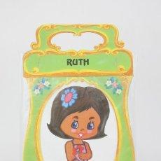 Coleccionismo Recortables: RECORTABLE MUÑECA - RUTH MINIBOUTIQUE - EDICIONES A. SALDAÑA ORTEGA - AÑO 1984 - PRECINTADO. Lote 121880734