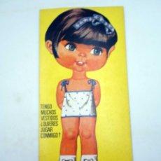 Coleccionismo Recortables: SUPER RECORTABLES MIS MUÑECAS 1ª SERIE 4. GEMA (MANUEL BREA) BRUGUERA, 1973. Lote 122685106