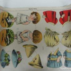 Coleccionismo Recortables: RECORTABLE MARIA ROSA SERIE 25 Nº 23 . 50 X 35 CM.. Lote 123532651