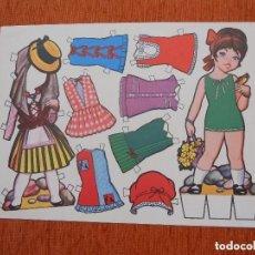 Coleccionismo Recortables: MUÑECA RECORTABLE NUEVA . Lote 124032075