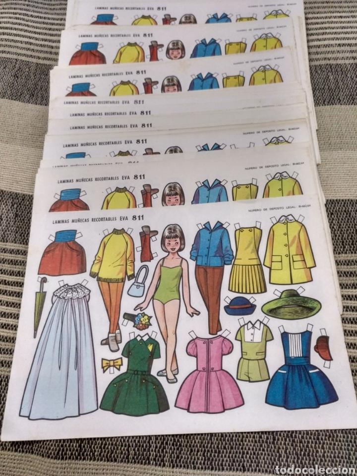 Coleccionismo Recortables: Muy barato lote Laminas Muñecas recortables Eva número 811 Hay 200 o más todas repetidas - Foto 2 - 124602598