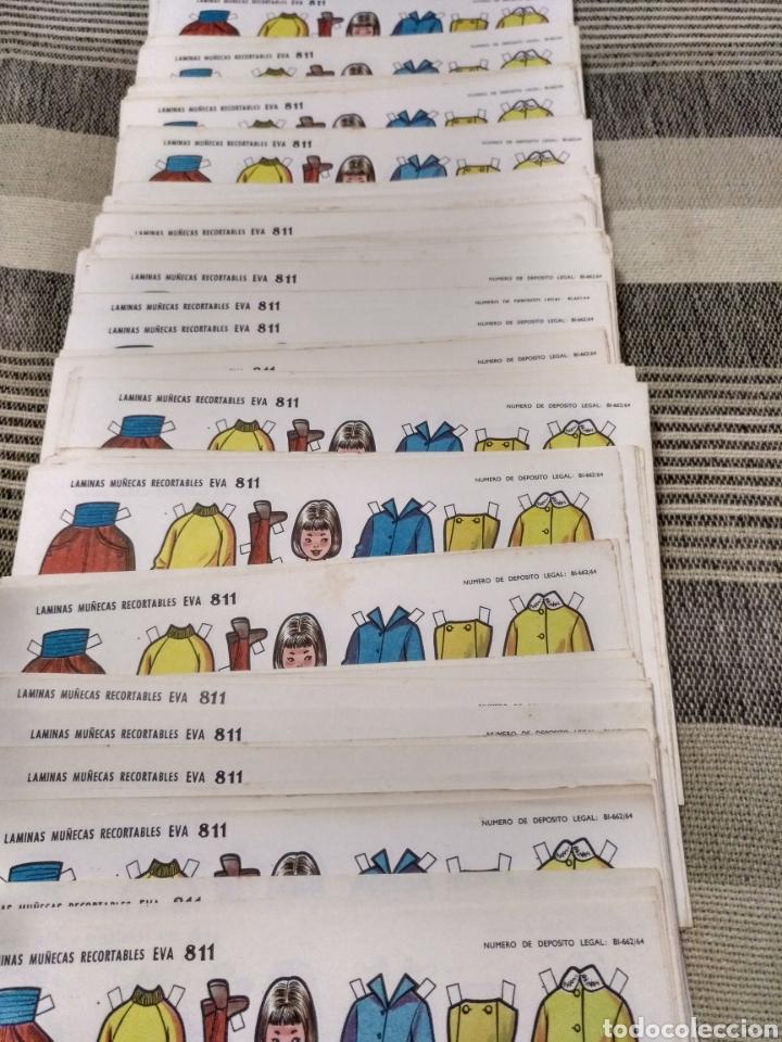 Coleccionismo Recortables: Muy barato lote Laminas Muñecas recortables Eva número 811 Hay 200 o más todas repetidas - Foto 3 - 124602598