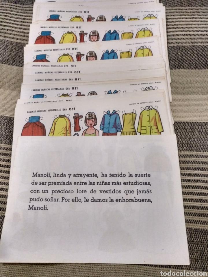 Coleccionismo Recortables: Muy barato lote Laminas Muñecas recortables Eva número 811 Hay 200 o más todas repetidas - Foto 4 - 124602598