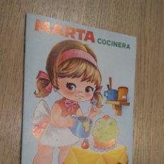 Coleccionismo Recortables: MARTA COCINERA CUENTOS CON VESTIDITOS RECORTABLES COLECCION PEN 1978. Lote 128957563