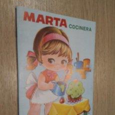 Coleccionismo Recortables: MARTA COCINERA CUENTOS CON VESTIDITOS RECORTABLES COLECCION PEN 1978. Lote 128957727
