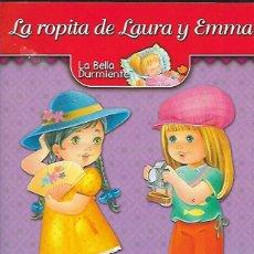 Collezionismo Figurine da Ritagliare: CUADERNO RECORTABLE MUÑECAS * LA ROPITA DE LAURA Y EMMA *. Lote 291986098