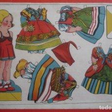 Coleccionismo Recortables: MUÑECAS RECORTABLES. MARI-PEPA Nº 3. TAMAÑO 23X 33 CM.. Lote 132033990