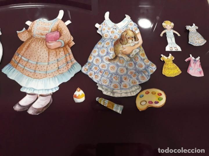 Coleccionismo Recortables: Lote de vestidos recortables y otros.. - Foto 3 - 132221550