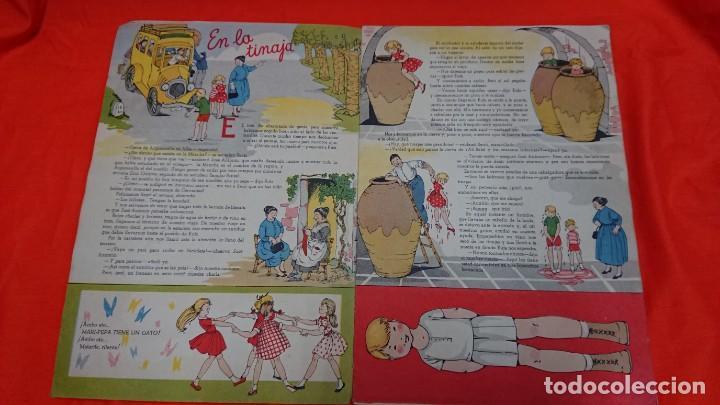 Coleccionismo Recortables: ANTIGUO CUENTO MARI PEPA EN LA MANCHA CON SUPLEMENTO RECORTABLE - Foto 2 - 132749258