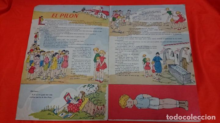 Coleccionismo Recortables: ANTIGUO CUENTO MARI PEPA EN LA MANCHA CON SUPLEMENTO RECORTABLE - Foto 3 - 132749258
