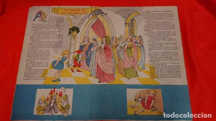 Coleccionismo Recortables: ANTIGUO CUENTO MARI PEPA EN LA MANCHA CON SUPLEMENTO RECORTABLE - Foto 4 - 132749258