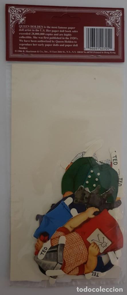 Coleccionismo Recortables: Recortable inglés muñeco - Foto 2 - 135616770