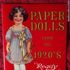 Coleccionismo Recortables: PAPER DOLLS 1920 RECORTABLE 1983. Lote 135906325