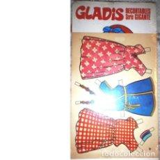 Coleccionismo Recortables: GLADIS. SERIE GIGANTE Nº 4. BRUGUERA. Lote 136870638