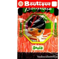 Coleccionismo Recortables: SONIA. SERIE BOUTIQUE. SALDAÑA. Lote 136871790