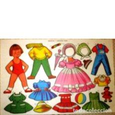 Coleccionismo Recortables: RECORTABLE MUÑECAS Y VESTIDOS FHER. Lote 222451740
