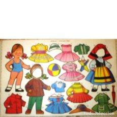 Coleccionismo Recortables: RECORTABLE MUÑECAS Y VESTIDOS FHER. Lote 222451701