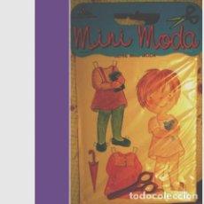 Coleccionismo Recortables: RECORTABLE SERIE MINI MODA. EDICIONES CON-BEL. Lote 137383698