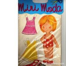 Coleccionismo Recortables: RECORTABLE SERIE MINI MODA. EDICIONES CON-BEL. Lote 137383958