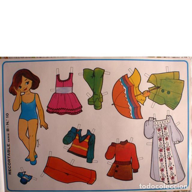 Coleccionismo Recortables: Muñecas recortables LOROÑO. Serie B, nº 1 al 10 - Foto 2 - 137438082