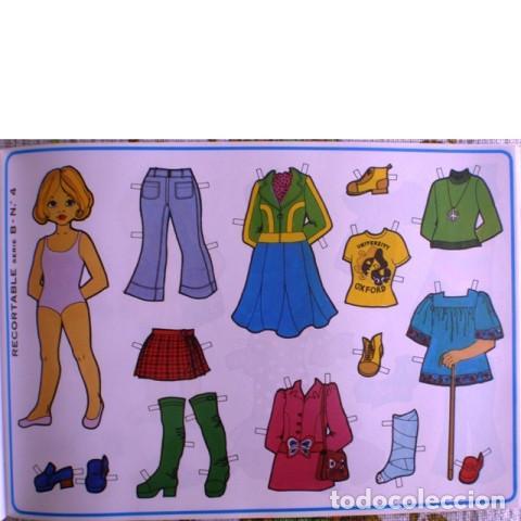 Coleccionismo Recortables: Muñecas recortables LOROÑO. Serie B, nº 1 al 10 - Foto 5 - 137438082