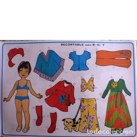 Coleccionismo Recortables: Muñecas recortables LOROÑO. Serie B, nº 1 al 10 - Foto 8 - 137438082