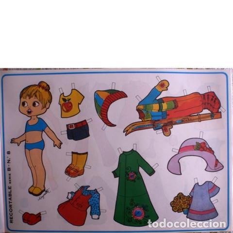 Coleccionismo Recortables: Muñecas recortables LOROÑO. Serie B, nº 1 al 10 - Foto 9 - 137438082