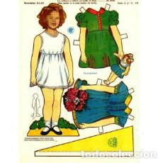 Colecionismo Recortáveis: RECORTABLE SHIRLEY TEMPLE. BABY. SERIE A Nº 4 - P. Lote 137657422