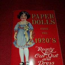 Coleccionismo Recortables: MUNECAS DE PAPEL,PAPER DOLLS FROM THE 1920`S . . Lote 137942646