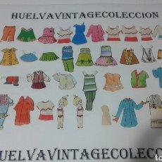 Coleccionismo Recortables: LOTE DE RECORTABLES ANTIGUOS.. Lote 138708226