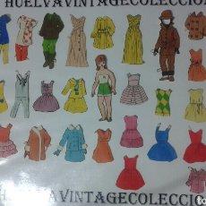 Coleccionismo Recortables: LOTE DE RECORTABLES ANTIGUOS.. Lote 138708378