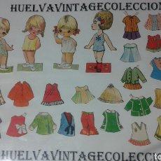 Coleccionismo Recortables: LOTE DE RECORTABLES ANTIGUOS.. Lote 138708650