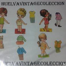 Coleccionismo Recortables: LOTE DE RECORTABLES ANTIGUOS.. Lote 138708797