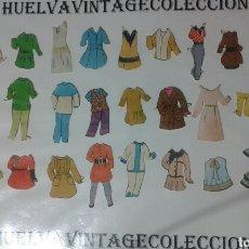 Coleccionismo Recortables: LOTE DE RECORTABLES ANTIGUOS.. Lote 138708973