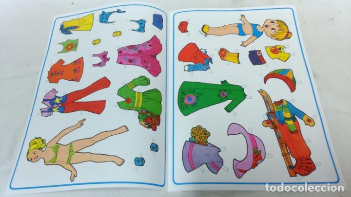 Coleccionismo Recortables: LOTE 36 LÁMINAS RECORTABLES MUÑECAS VARIAS EDITORIALES. LAMINAS ENTERAS SIN ROTURAS. TODAS DISTINTAS - Foto 3 - 139175530