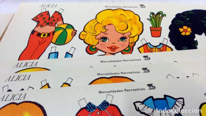 Coleccionismo Recortables: LOTE 36 LÁMINAS RECORTABLES MUÑECAS VARIAS EDITORIALES. LAMINAS ENTERAS SIN ROTURAS. TODAS DISTINTAS - Foto 8 - 139175530