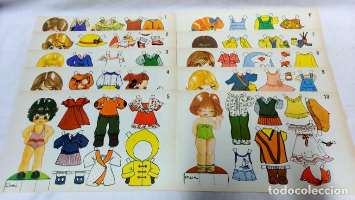 Coleccionismo Recortables: LOTE 36 LÁMINAS RECORTABLES MUÑECAS VARIAS EDITORIALES. LAMINAS ENTERAS SIN ROTURAS. TODAS DISTINTAS - Foto 3 - 139175718