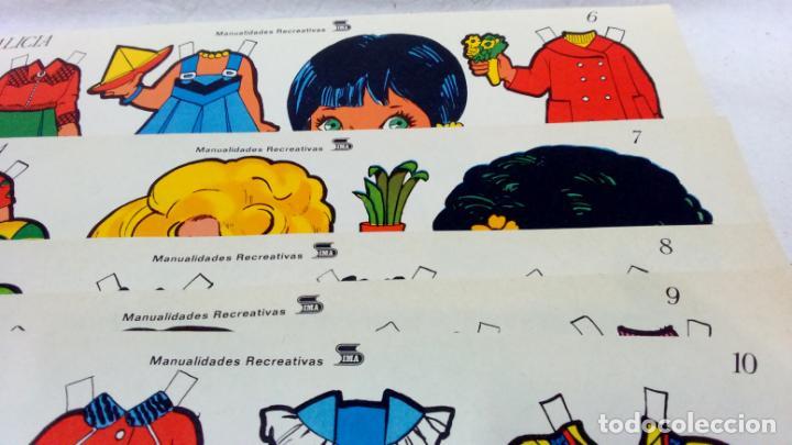 Coleccionismo Recortables: LOTE 36 LÁMINAS RECORTABLES MUÑECAS VARIAS EDITORIALES. LAMINAS ENTERAS SIN ROTURAS. TODAS DISTINTAS - Foto 8 - 139175718