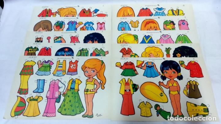 Coleccionismo Recortables: LOTE 38 LÁMINAS RECORTABLES MUÑECAS VARIAS EDITORIALES. LAMINAS ENTERAS SIN ROTURAS. TODAS DISTINTAS - Foto 2 - 139176050