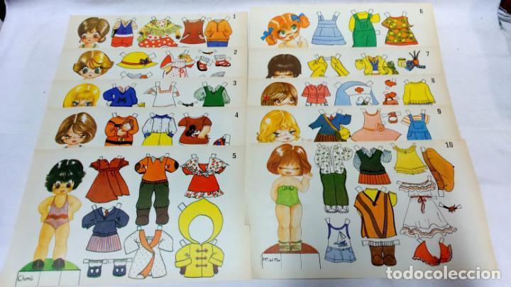Coleccionismo Recortables: LOTE 38 LÁMINAS RECORTABLES MUÑECAS VARIAS EDITORIALES. LAMINAS ENTERAS SIN ROTURAS. TODAS DISTINTAS - Foto 4 - 139176050