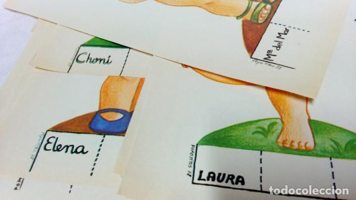 Coleccionismo Recortables: LOTE 38 LÁMINAS RECORTABLES MUÑECAS VARIAS EDITORIALES. LAMINAS ENTERAS SIN ROTURAS. TODAS DISTINTAS - Foto 5 - 139176050
