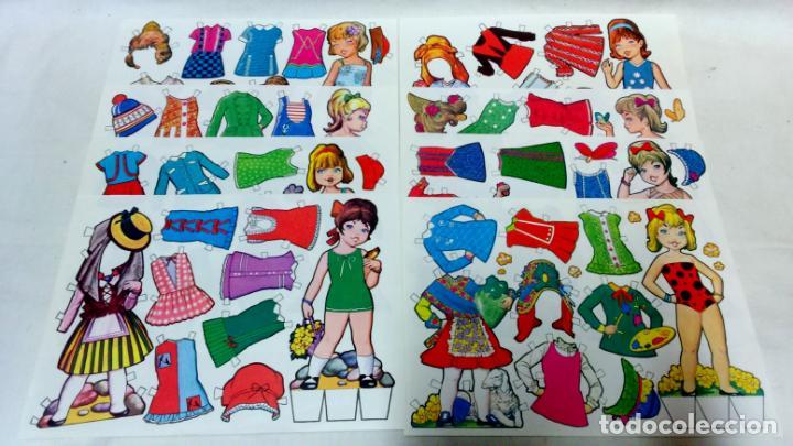 Coleccionismo Recortables: LOTE 38 LÁMINAS RECORTABLES MUÑECAS VARIAS EDITORIALES. LAMINAS ENTERAS SIN ROTURAS. TODAS DISTINTAS - Foto 8 - 139176050