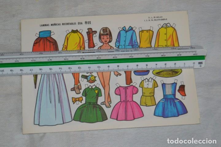 Coleccionismo Recortables: Vintage - LIBRITO CON 10 LÁMINAS DE MUÑECAS RECORTABLES EVA - 10 LÁMINAS DIFERENTES - ENVÍO 24H - Foto 2 - 147768782