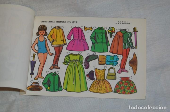 Coleccionismo Recortables: Vintage - LIBRITO CON 10 LÁMINAS DE MUÑECAS RECORTABLES EVA - 10 LÁMINAS DIFERENTES - ENVÍO 24H - Foto 4 - 147768782